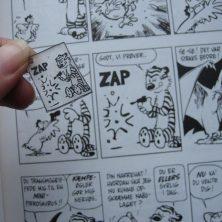 krympeplast med tegneserie figurer