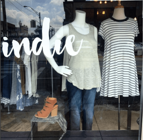 Indie located in Fort Smith at 523 Garrison Avenue