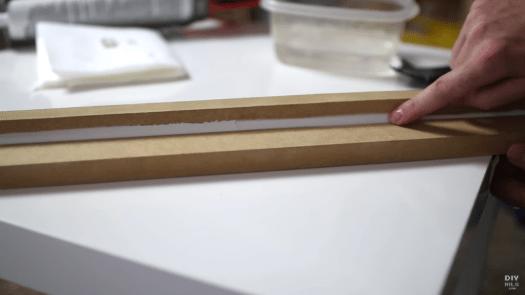 Tooling caulking with tool vs finger