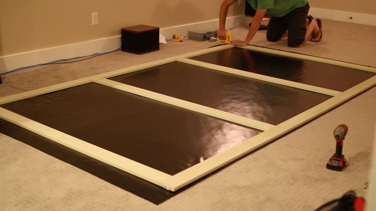 $100 DIY HD Projector Screen - DIY Home Improvement and ...