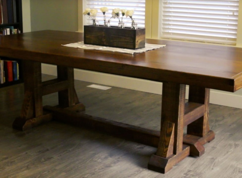 Diy kitchen dining table pottery barn inspired diy for Pottery barn bench plans