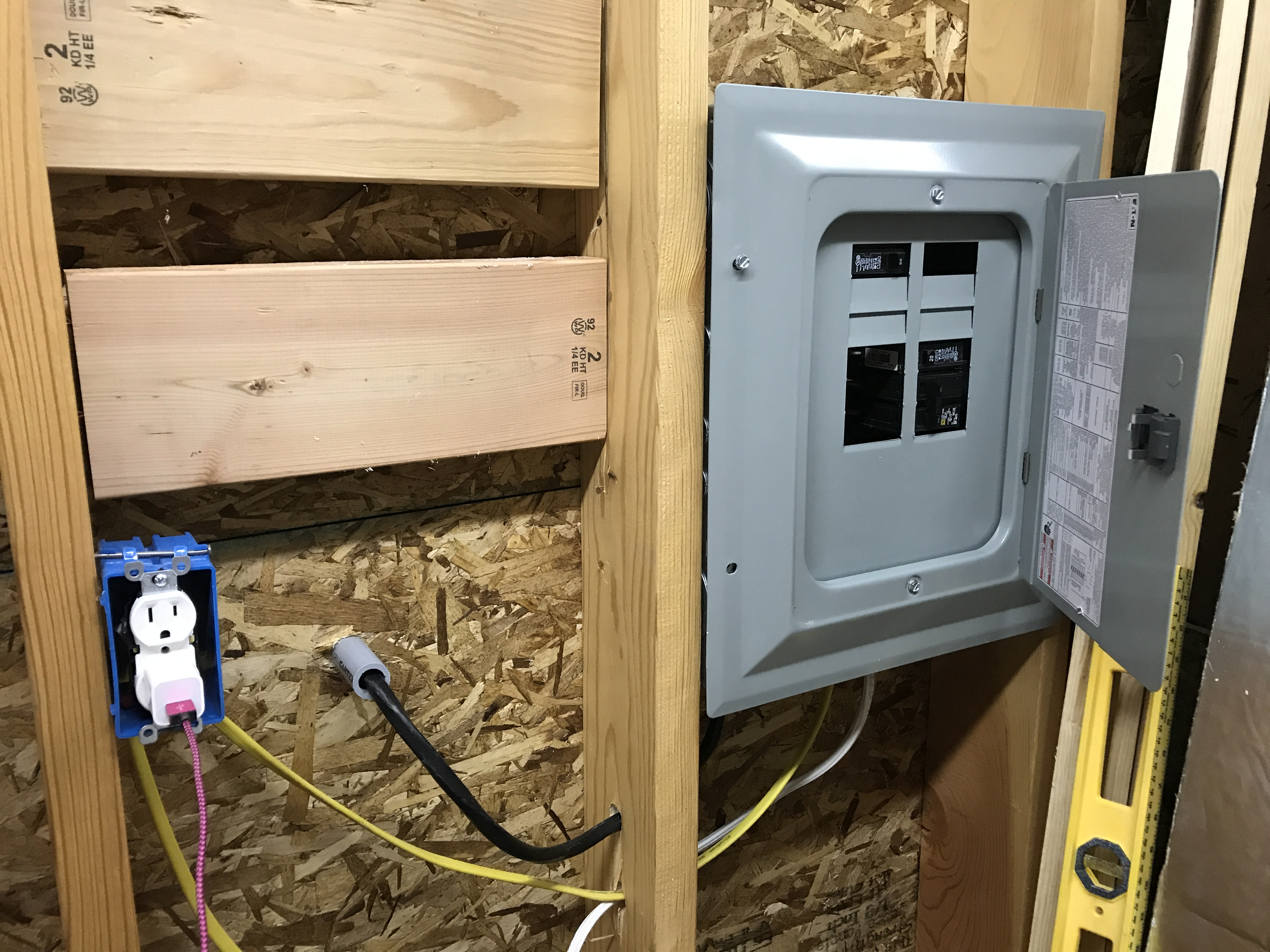 Building a Woodshop from Scratch – Electrical Wiring – DIY Home ...