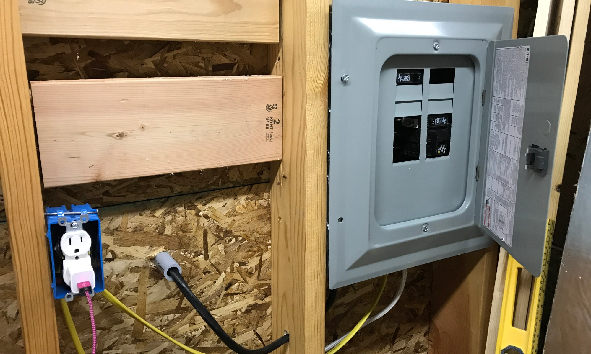 Diy Electrical Projects Wiring Shed Building A Woodshop From Scratch Home