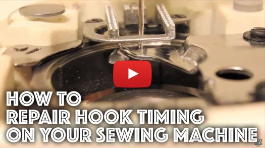 How to Fix/Repair the Hook Timing on a Sewing Machine