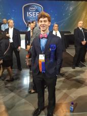 Jacob at ISEF