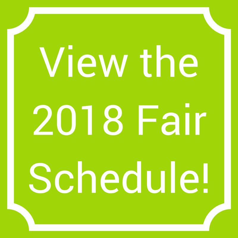 2018 Fair Day Schedule