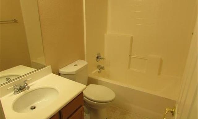 Downstairs secondary bathroom
