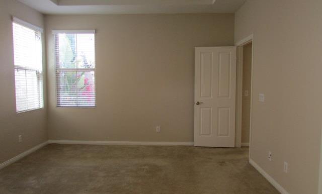 Downstairs Master Bedroom.