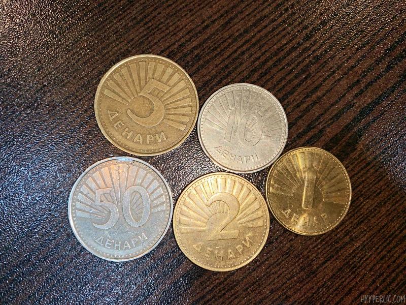 Münzen Mazedonischer Denar Reise Blog