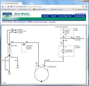Factory camaro alternator question  Page 5  LS1TECH