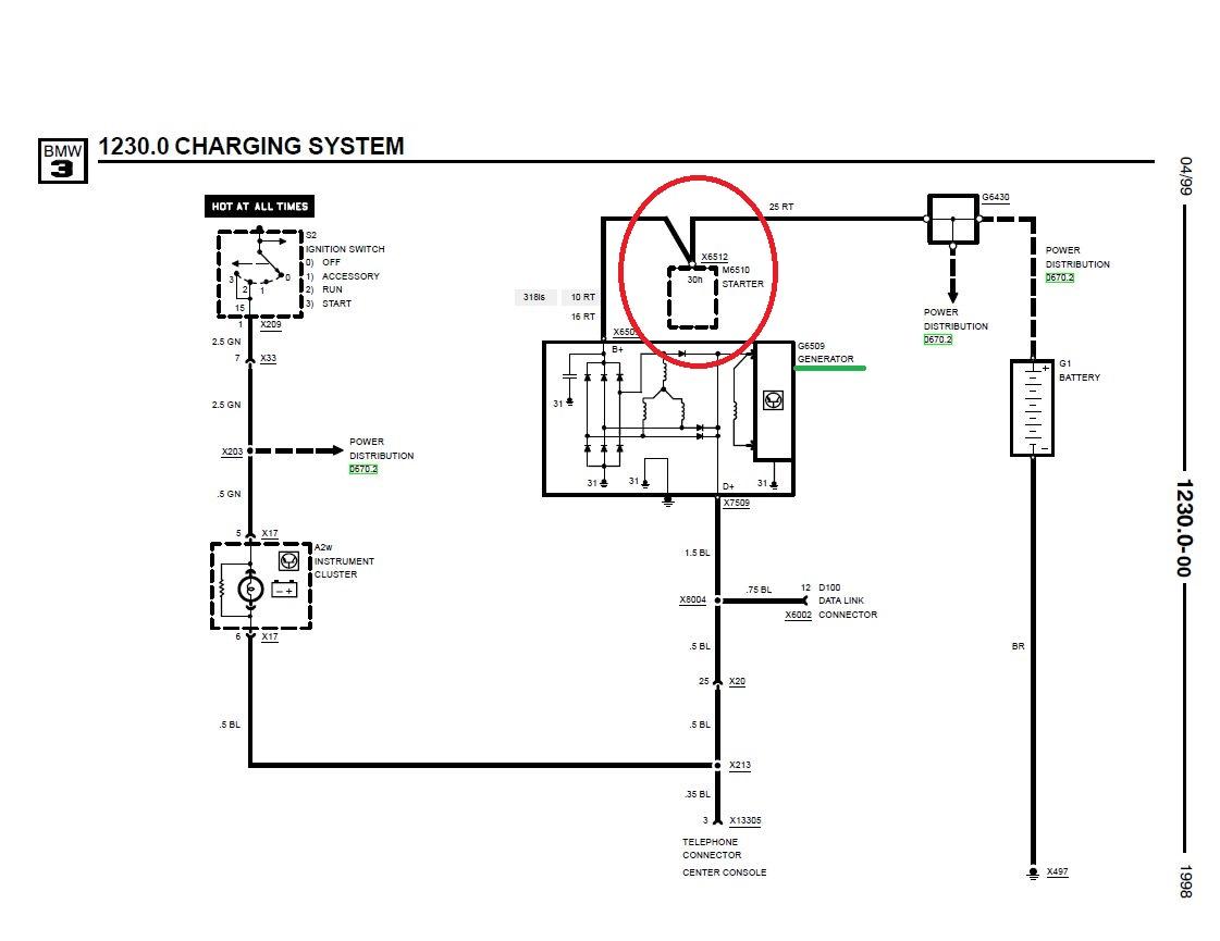 Starter And Alternator Wiring Question