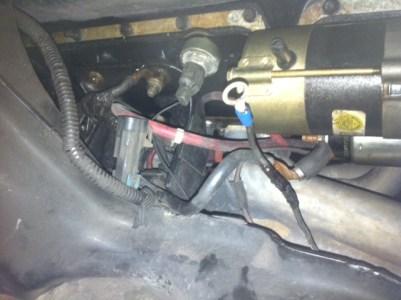 LT1 Starter wiring probems  LS1TECH  Camaro and Firebird