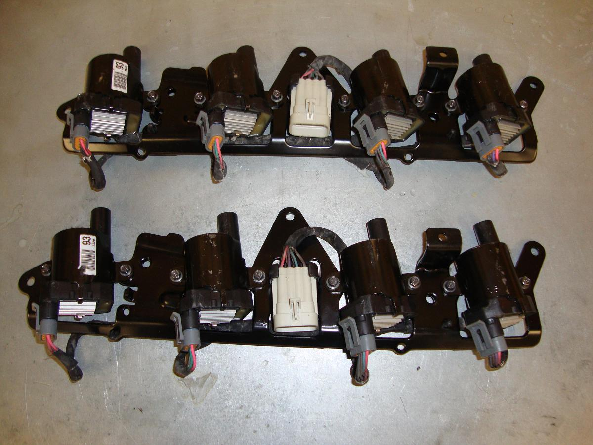 D585 Coil Packs With Brackets And Wiring Harness