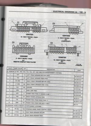 1996 10 speaker pontiac system pre monsoon aftermarket 5 channel amplifier  LS1TECH  Camaro
