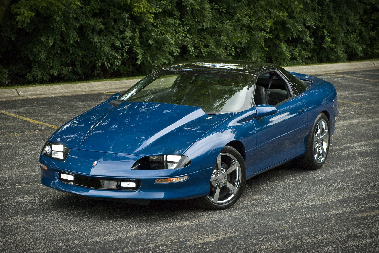 1996 Camaro Z28 Metalic Blue Hard Top Full Redone New