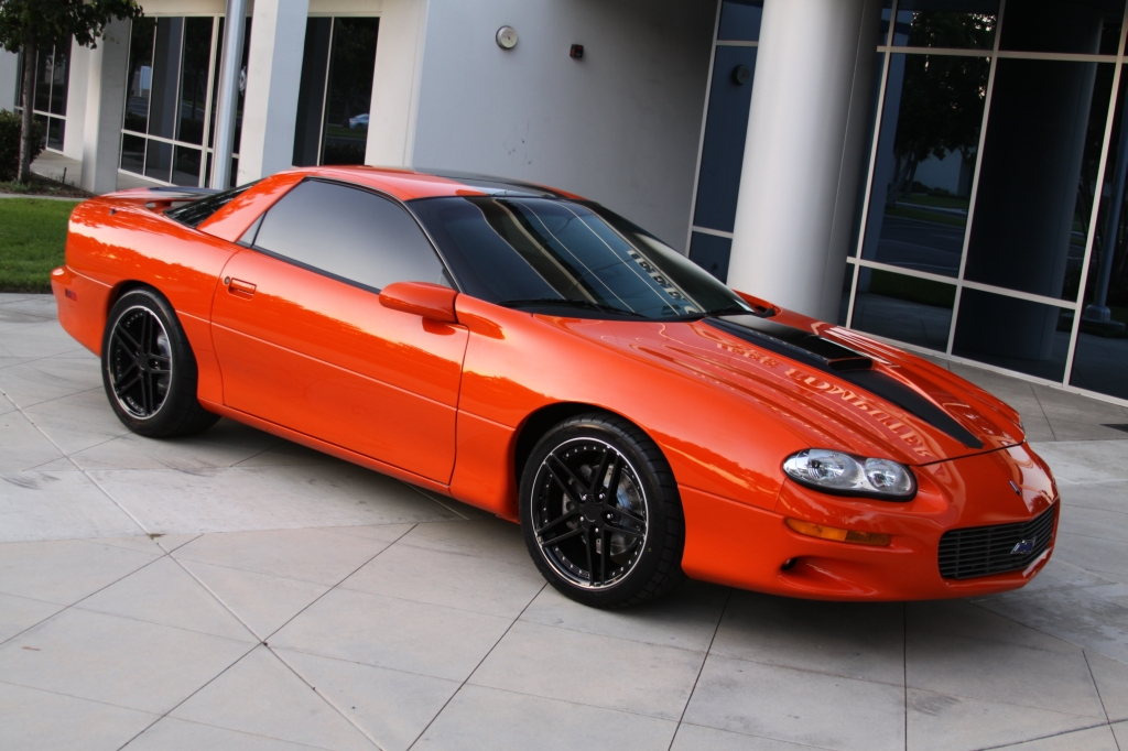 1998 Pontiac Firebird Colors