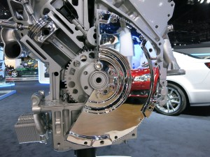 LA Auto Show 2013: LS Engine Cut Aways  LS1Tech