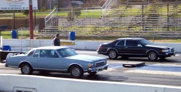 Drag Race Ls1 Caprice Outruns Twin Turbo Lincoln Ls1tech Com