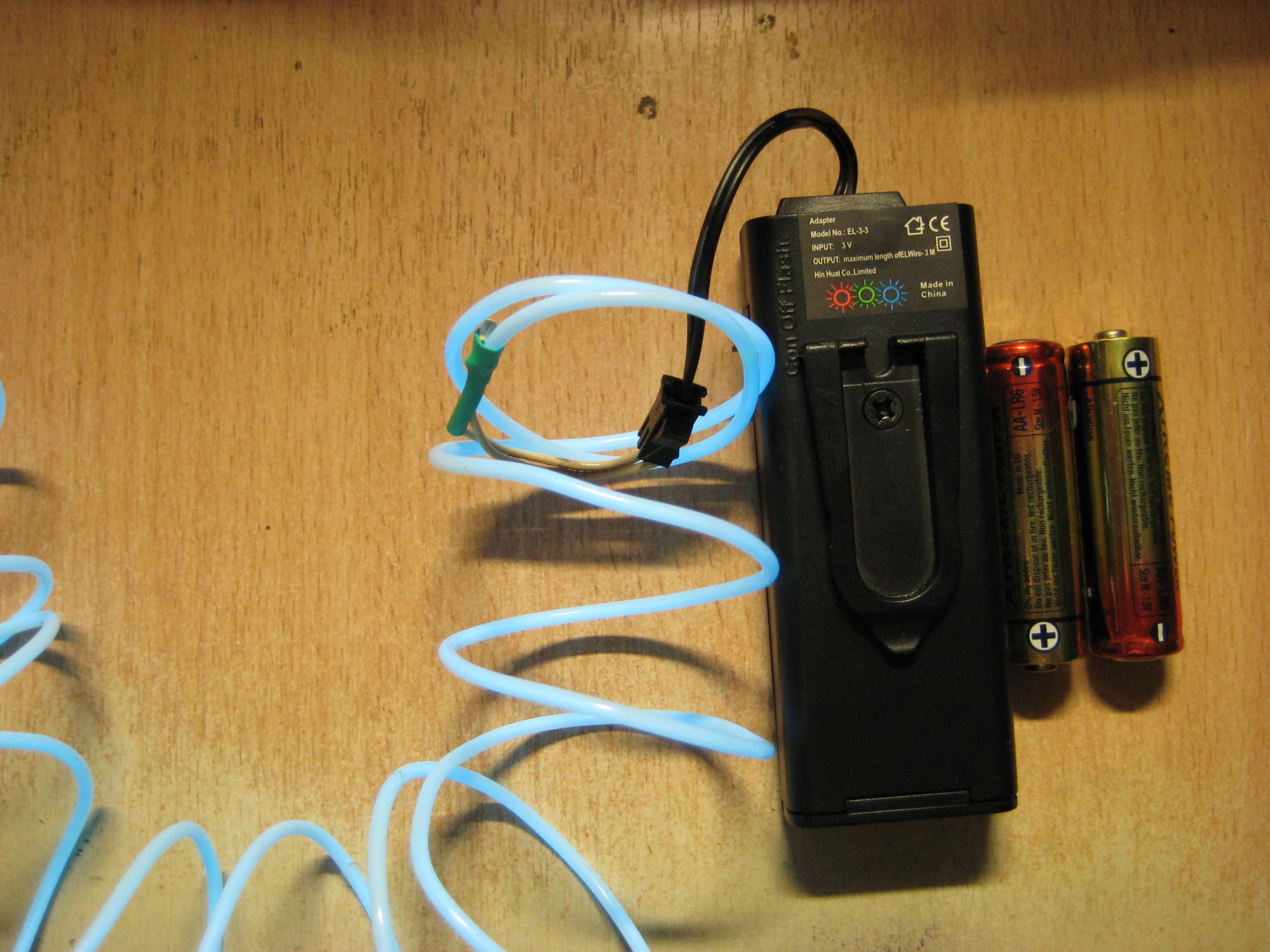 El-wire Portable Inverter