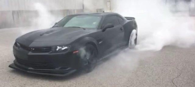 ls1tech.com supercharged blown 5G Camaro Z28 Z/28 burnout tire smoke