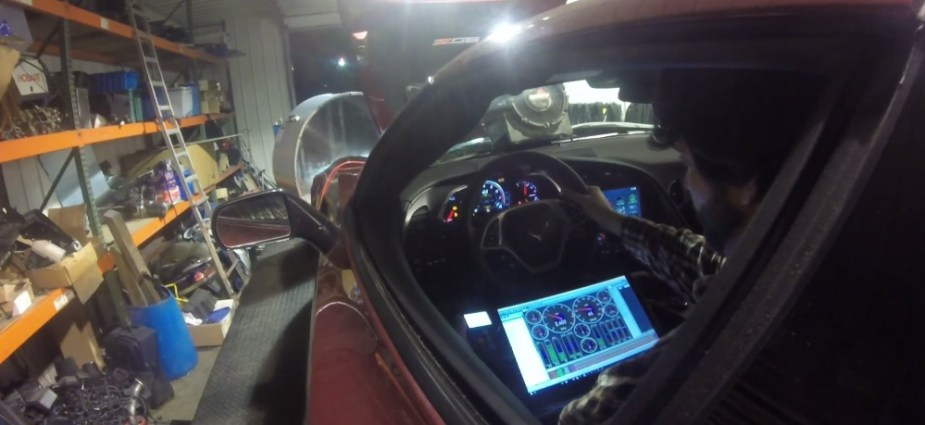 Dyno Blast Wednesday: C7 Corvette Z06 hits 207 on the Rollers, Makes