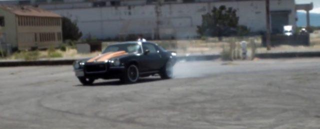 1972 Camaro Z28 Burnout