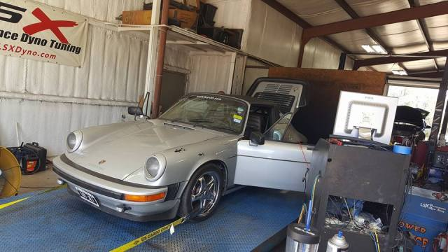 LS1tech.com Twin Turbo LS7 V8 Swap Porsche 930 911 Targa