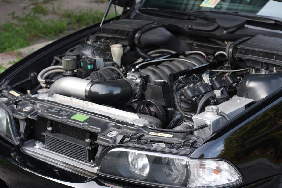LS1tech.com BMW E39 Touring Turbo LS1 6-speed Swap BringATrailer for sale