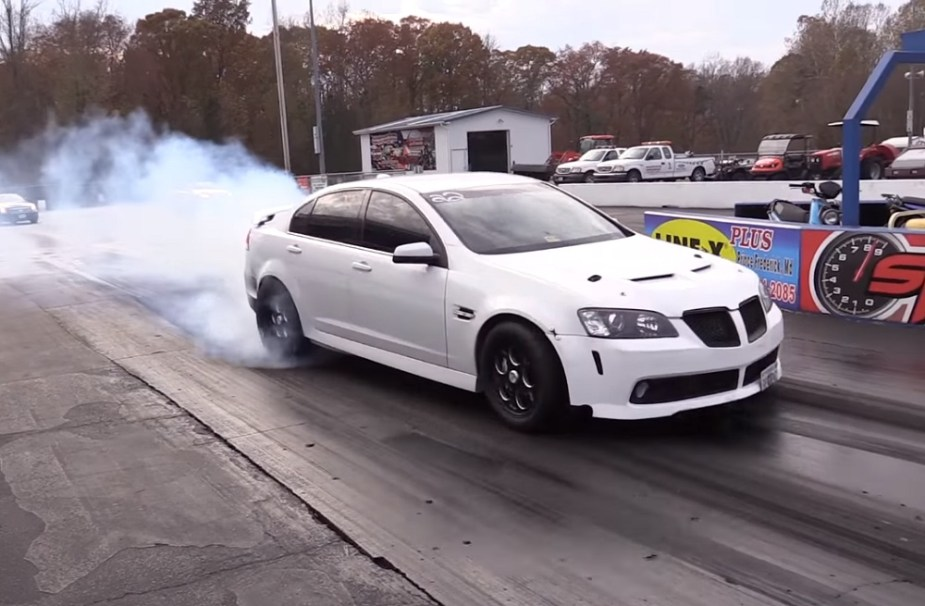 Pontiac G8 8 Seconds Drag Car