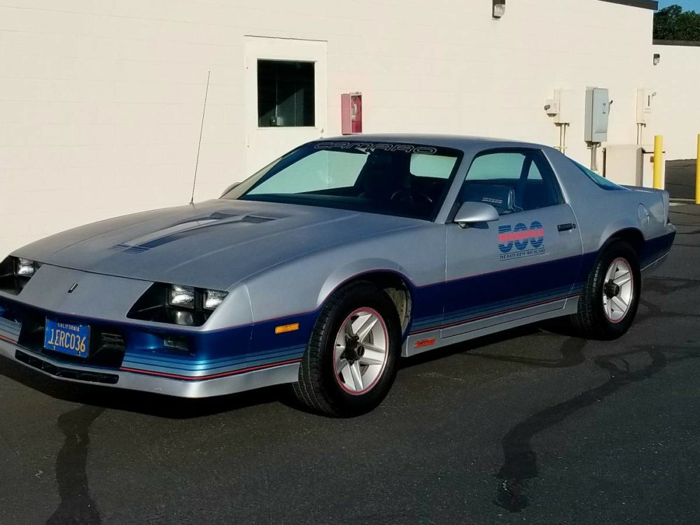 1982 Chevy Camaro Pace Car Is One Well Preserved F
