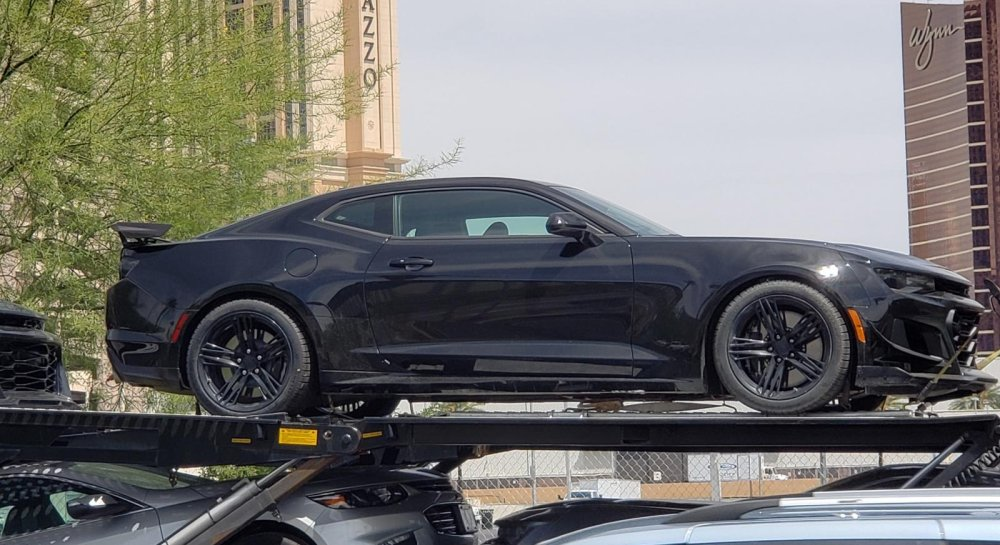 Refreshed 2019 Camaro Zl1 Photographed In Transit
