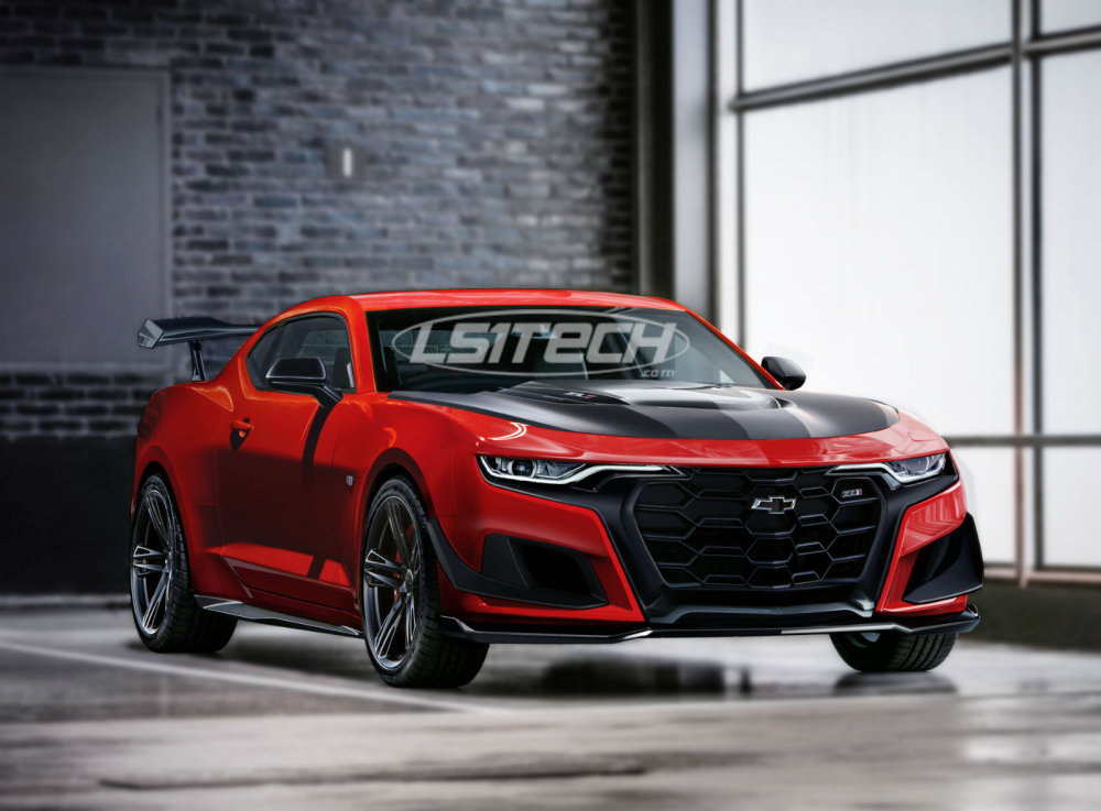 LS1tech Exclusive: Imagining the Refreshed Camaro ZL1 ...