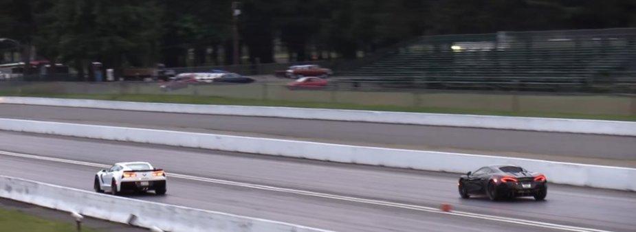 Corvette Z06 Beats McLaren