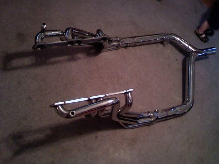 LT1 Camaro HEaders with Y-pipe