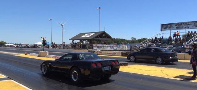Corvette Versus Mazda