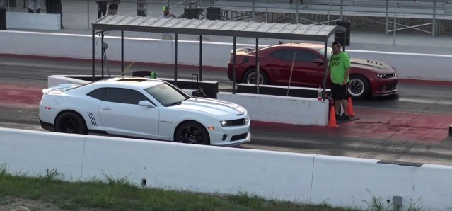 Modified LS3 L99 Camaro SS Drag Race Suspension Tuning Modifications LS1tech.com