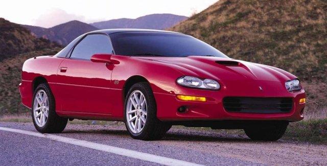 2001 Camaro SS Front