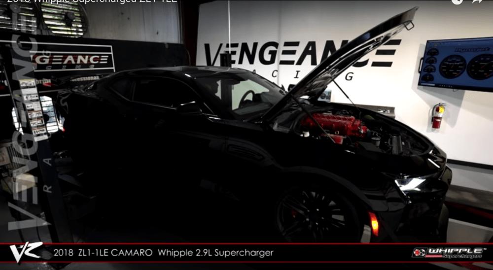 Vengeance Racing 2018 Chevrolet Camaro ZL1 1LE  - LS1Tech com