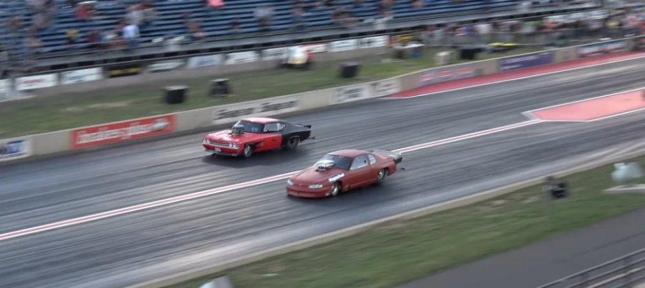 Chevrolet Chevelle Vs Monte Carlo Launch
