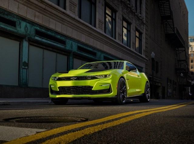 2019 Chevrolet Camaro Colors Options Accessories Shock Yellow Ls1tech.com