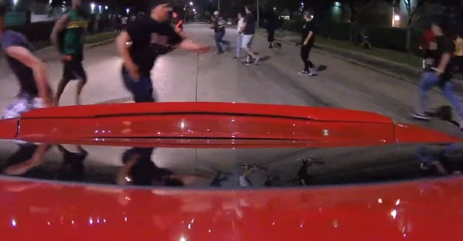 Camaro Outruns Police