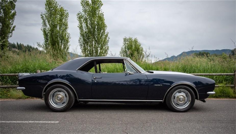 1967 Chevrolet Camaro restomod with LS1 swap.