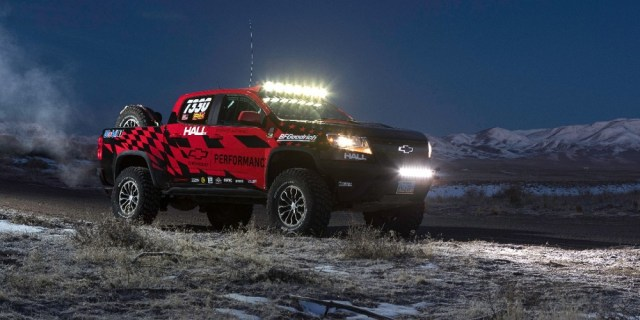 Chevrolet Performance Colorado ZR2 Off-Road Race Parts