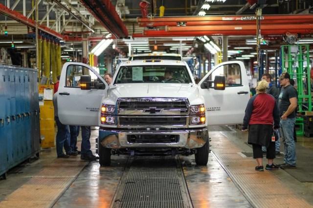 Chevrolet Silverado 4500HD 5500HD 6500HD Medium-duty Work Truck