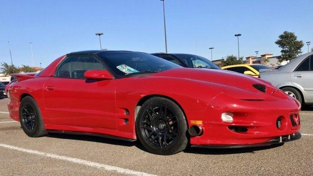 2000 Turbocharged Pontiac Firebird Trans Am Passenger Side Front
