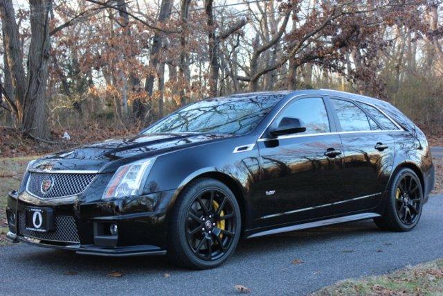 2012 Cadillac CTS-V WAgon Low Front