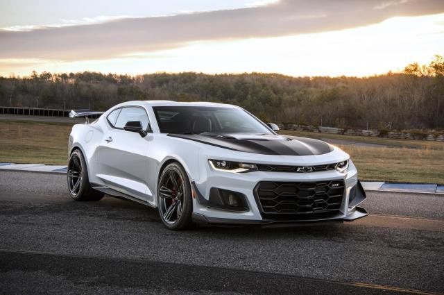 2019 Chevrolet Camaro ZL1 10-speed Transmission