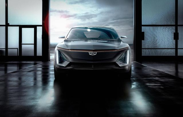 Cadillac EV Electric Vehicle SUV