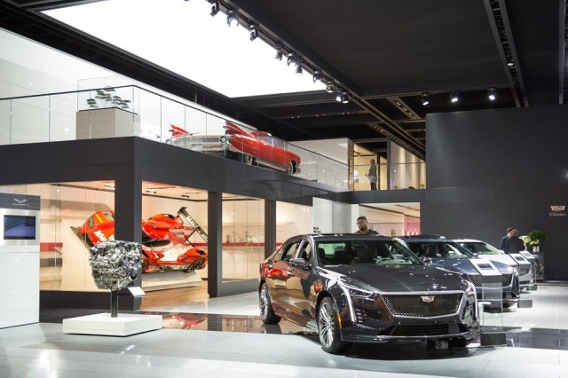 Cadillac NAIAS Detroit Auto Show Display