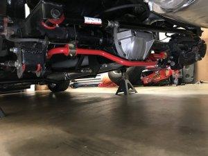 1991 Firebird Rear End Under